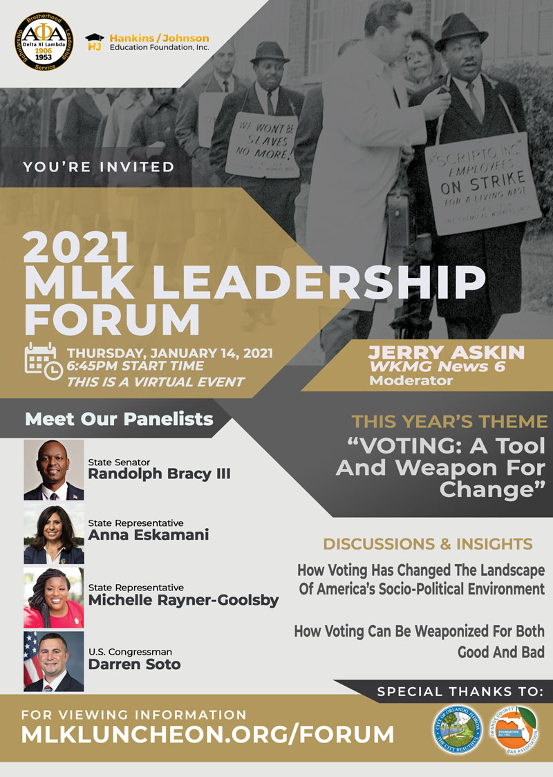 2021 MLK Leadership Forum